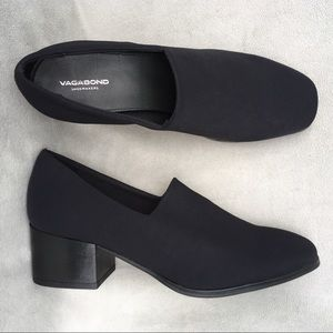 New Vagabond Daisy Black Stretch Heels 39